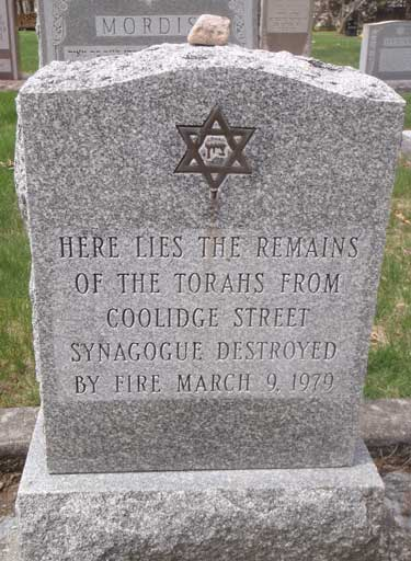 Torah Burial Marked